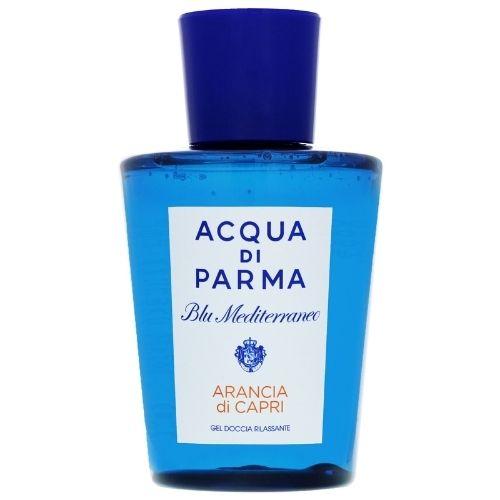Acqua di Parma Blue Mediterraneo arancia di Capri shower gel