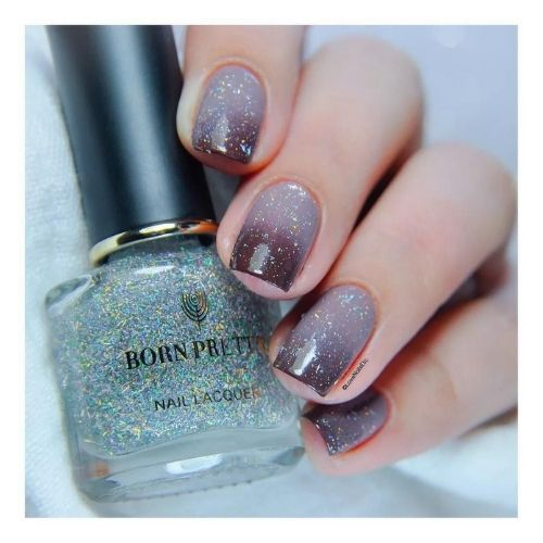 BORN PRETTY holographic nail polish