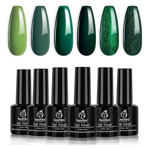Beetles holographic nail polish