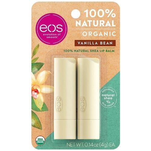 EOS Organic Lip Balm Stick- Vanilla Bean