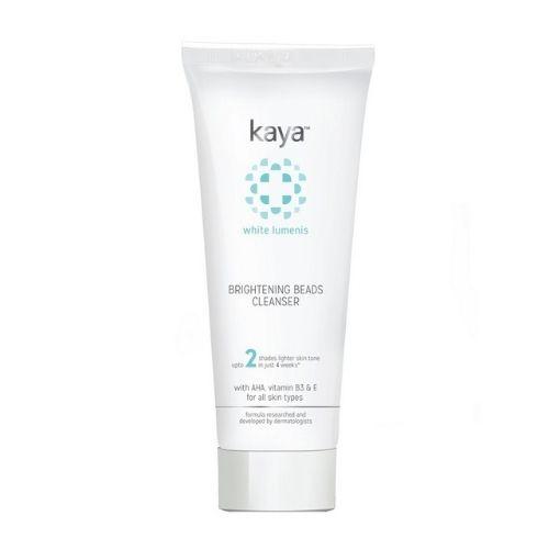 Kaya BRIGHTENING BEADS CLEANSER white lumens