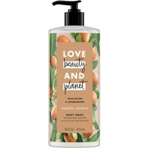 Love Beauty and Planet Shea Butter & Sandalwood Majestic Moisture Body Wash