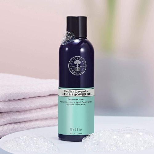 Neal's Yard English lavender bath and shower gel, 200ml