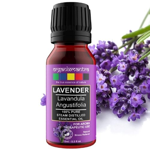 Lavender Oil for Eyebrows Growth